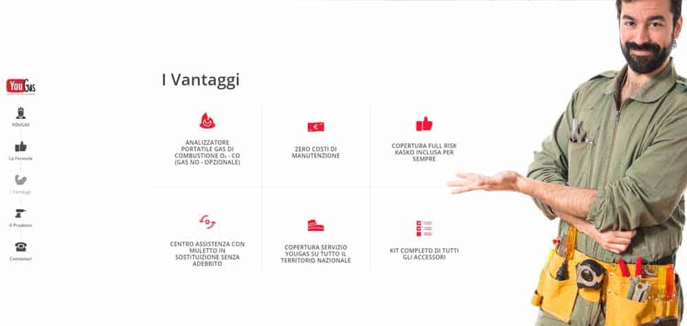 Landing Page - YouGas