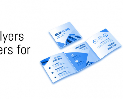 Poster, Flyers and Folders for Business WebPriuli