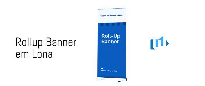 Roll-up Banner em Lona Portfolio WebPriuli
