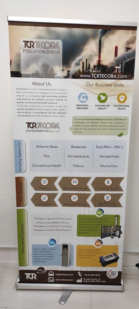 Roll Up TCR Tecora - WebPriuli