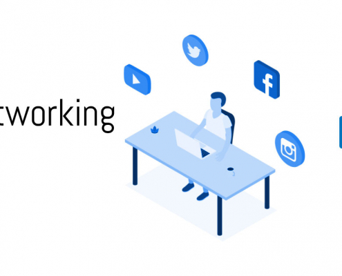 Social Networking Posts Portfolio WebPriuli